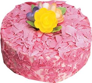 pasta siparisi 4 ile 6 kisilik framboazli yas pasta  Sivas çiçek yolla , çiçek gönder , çiçekçi