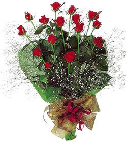 11 adet kirmizi gül buketi özel hediyelik  Sivas çiçek , çiçekçi , çiçekçilik