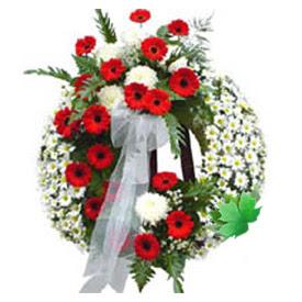 Cenaze çelengi cenaze çiçek modeli  Sivas online çiçek gönderme sipariş