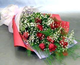 10 adet kirmizi gül çiçegi gönder  Sivas cicekciler , cicek siparisi