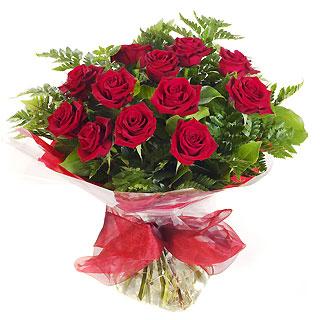 Ucuz Çiçek siparisi 11 kirmizi gül buketi  Sivas 14 şubat sevgililer günü çiçek