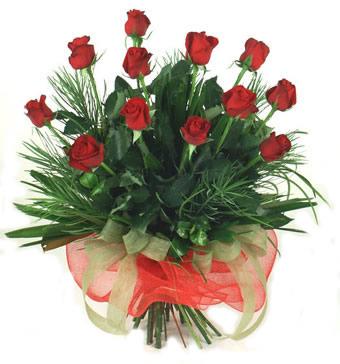 Çiçek yolla 12 adet kirmizi gül buketi  Sivas çiçek servisi , çiçekçi adresleri