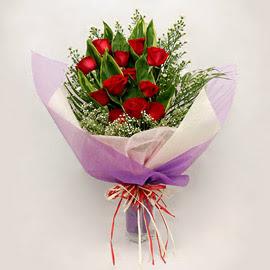çiçekçi dükkanindan 11 adet gül buket  Sivas çiçek , çiçekçi , çiçekçilik