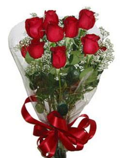 Çiçek sade gül buketi 7 güllü buket  Sivas çiçekçiler