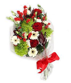 Karisik mevsim buketi çiçek tanzimi  Sivas çiçek siparişi sitesi