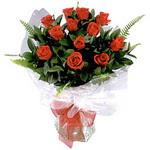 Sivas çiçek gönderme  9 adet güzel bir gül buketi