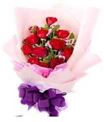 7 gülden kirmizi gül buketi sevenler alsin  Sivas online çiçekçi , çiçek siparişi