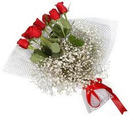 7 adet kirmizimi kirmizi gül buketi  Sivas uluslararası çiçek gönderme