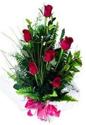 Sivas çiçek servisi , çiçekçi adresleri  5 adet kirmizi gül buketi hediye ürünü