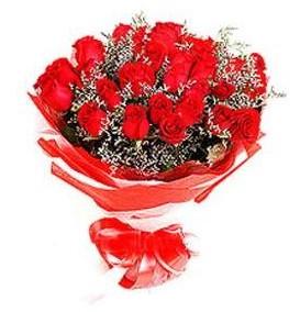 Sivas hediye sevgilime hediye çiçek  12 adet kırmızı güllerden görsel buket