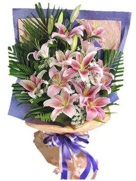 7 dal kazablankadan görsel buket  Sivas çiçek online çiçek siparişi