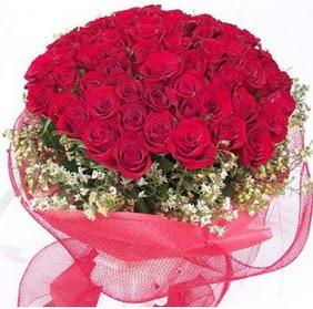 Sivas kaliteli taze ve ucuz çiçekler  29 adet kırmızı gülden buket