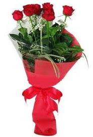 Çiçek yolla sitesinden 7 adet kırmızı gül  Sivas hediye çiçek yolla