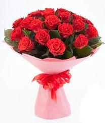 15 adet kırmızı gülden buket tanzimi  Sivas ucuz çiçek gönder
