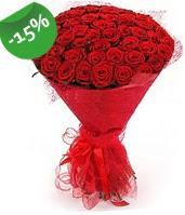 51 adet kırmızı gül buketi özel hissedenlere  Sivas ucuz çiçek gönder