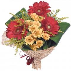 karışık mevsim buketi  Sivas çiçek , çiçekçi , çiçekçilik