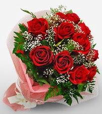 12 adet kırmızı güllerden kaliteli gül  Sivas internetten çiçek satışı