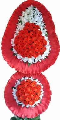 Sivas çiçekçiler  Çift katlı kaliteli düğün açılış sepeti