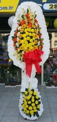 Çift katlı düğün nikah açılış çiçeği  Sivas çiçek servisi , çiçekçi adresleri