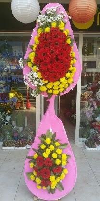 Çift katlı düğün nikah açılış çiçek modeli  Sivas çiçekçi mağazası
