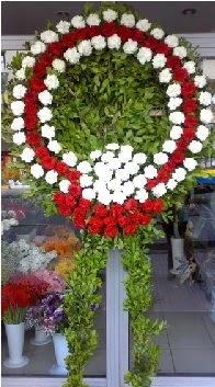 Cenaze çelenk çiçeği modeli  Sivas cicekciler , cicek siparisi