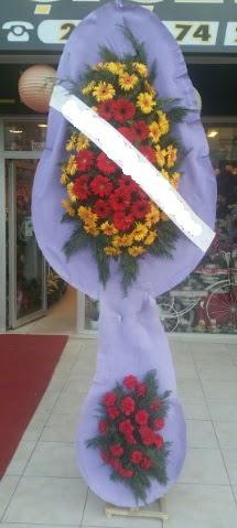 Çift katlı nikah düğüne çiçek modeli  Sivas çiçek siparişi sitesi