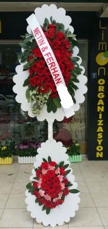 Çift katlı düğün nikah çiçeği modeli  Sivas ucuz çiçek gönder