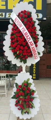 Çift katlı düğün nikah çiçeği modeli  Sivas çiçek satışı