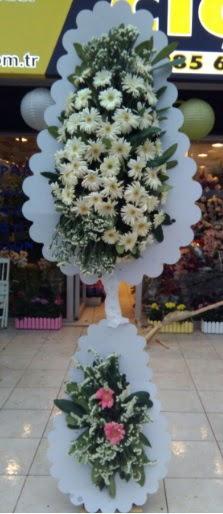 Çift katlı düğün nikah açılış çiçeği  Sivas çiçek gönderme sitemiz güvenlidir
