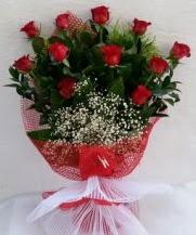 11 adet kırmızı gülden görsel çiçek  Sivas çiçek yolla