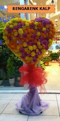 Ankara mevsim çiçeklerinden kalp perförje  Sivas çiçek gönderme sitemiz güvenlidir