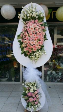 Çift katlı özel şahane sepet çiçeği  Sivas çiçek gönderme sitemiz güvenlidir