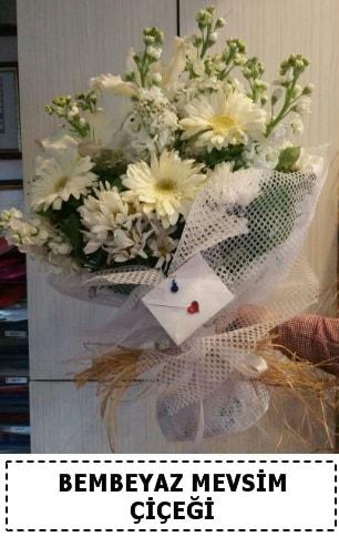 Bembeyaz görsel mevsim çiçek buketi  Sivas çiçek yolla , çiçek gönder , çiçekçi