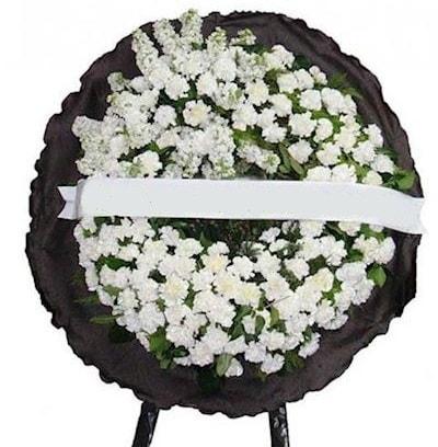 Cenaze çelengi çiçeği modelleri  Sivas hediye çiçek yolla
