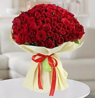 101 adet kırmızı gül buketi koca demet  Sivas çiçek siparişi sitesi