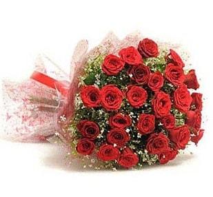 27 Adet kırmızı gül buketi  Sivas çiçekçi telefonları