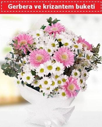 Papatya ve Gerbera Buketi  Sivas çiçek gönderme